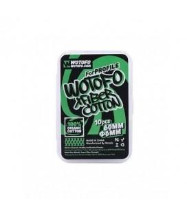COTON XFIBER 6MM X 10 - Wotofo