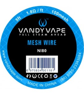 WIRE MESH NI80 100 MESH 1,5M - Vandy vape