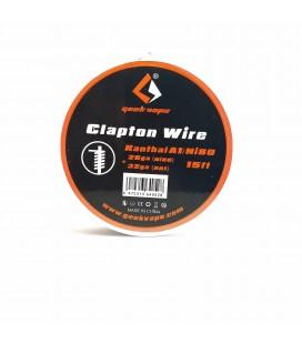 FIL KANTHAL-NI80 CLAPTON 26GA+32GA -Geekvape
