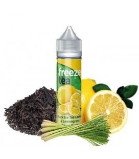 BLACK ICE TEA LEMON & LEMONGRASS 50ML - Freeze Tea